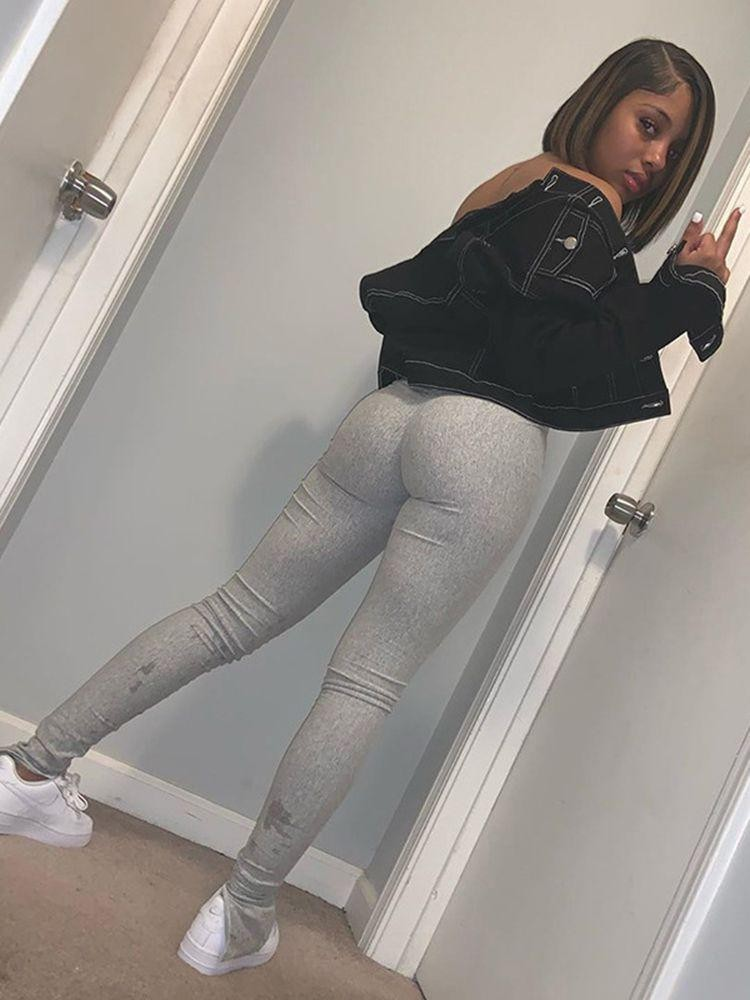 stacked pants