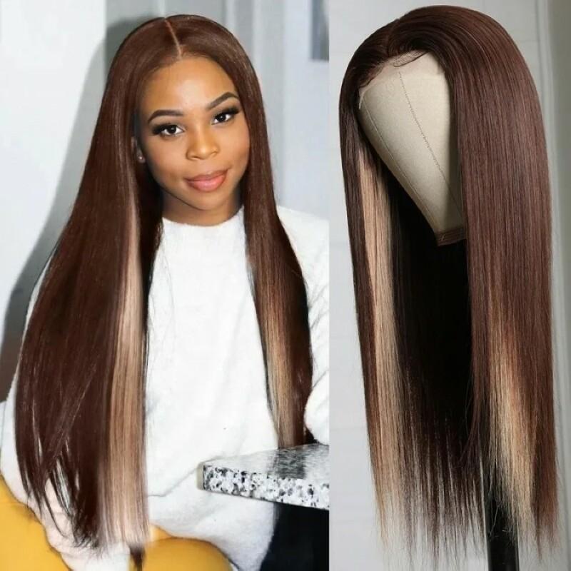 Middle Lace Part Wig