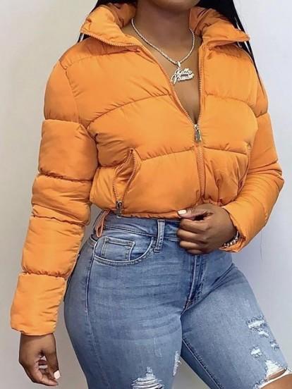 Crop Down Coat&Jacket