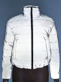 Jurllyshe Reflective AFM Applique Coat