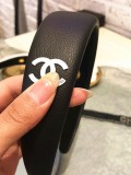 Letter C Wide Edge Imitation Leather Fashion Hairband