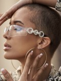 Personality Frameless Diamond Trend Fashion Sunglasses