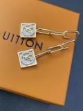 Rhinestone Letter Metal Chain Geometric Shapes Fashion Earrings