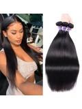 Hurela Series 3Pcs/Pack Straight Virgin Unprocessed Human Hair Weft