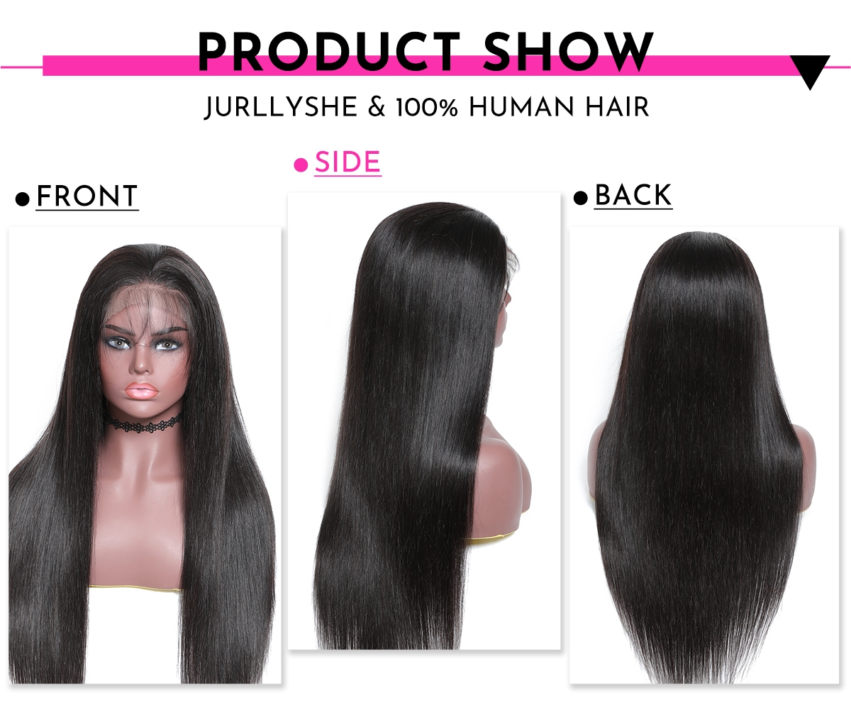 13x4 Frontal Straight Wig