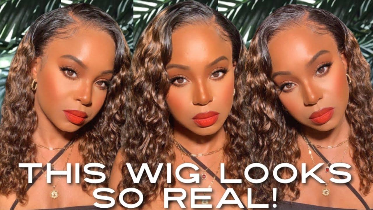 Honey Blonde Wave Wig