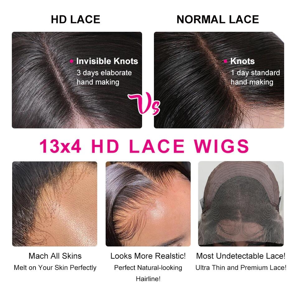 HD Transparent Lace Wig