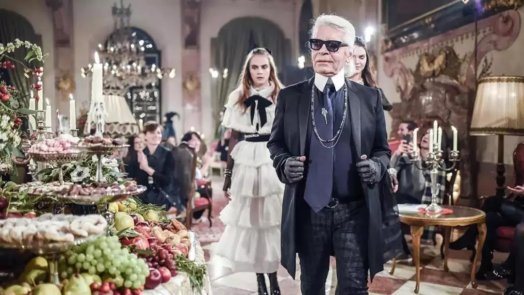 Karl Lagerfeld enjoyed hjs work