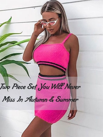 Two Piece Set You Will Never Miss In Autumn & Summer