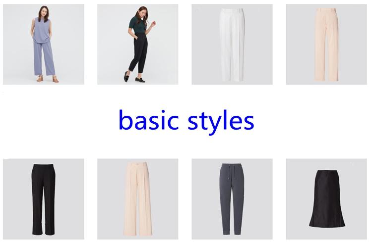 basic styles