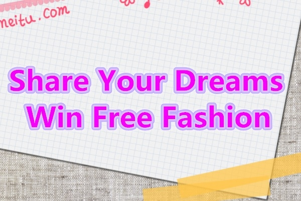 share dreams for free fashion