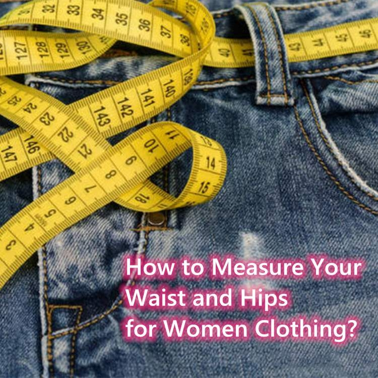 How to Measure Your Waist and Hips for Women Clothing