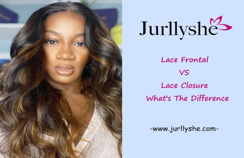 Lace Frontal Vs. Lace Closure: What's The Difference