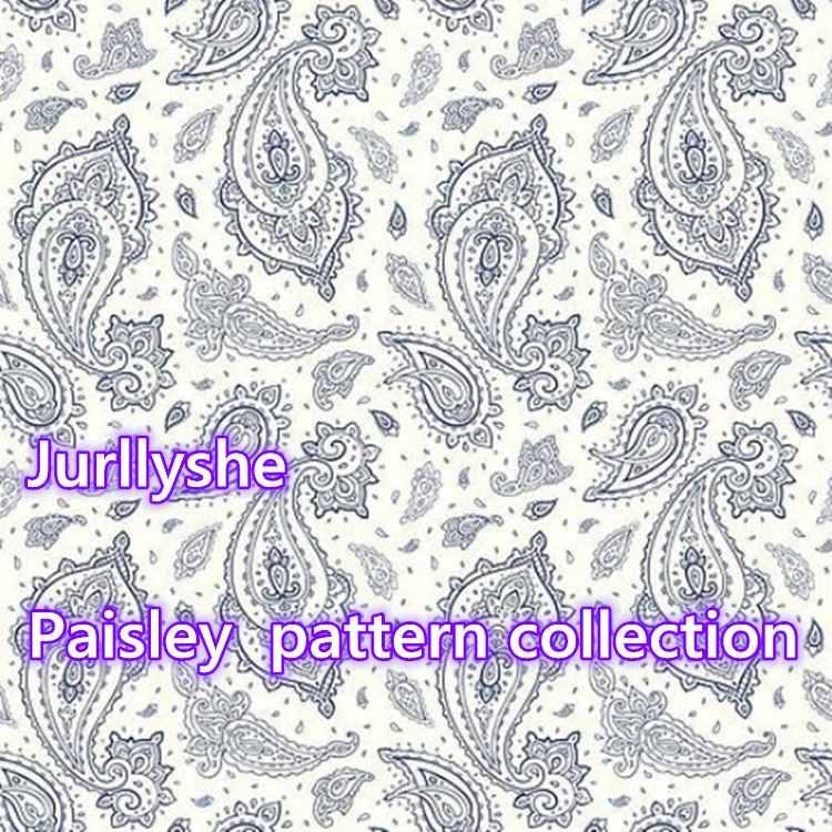 Paisley Bandana Pattern Print Styles