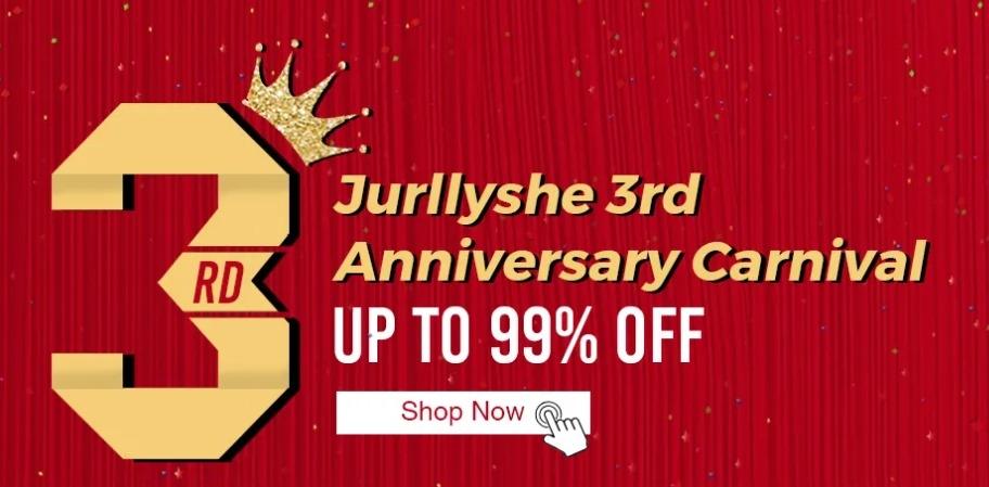 Jurllyshe anniversary sale
