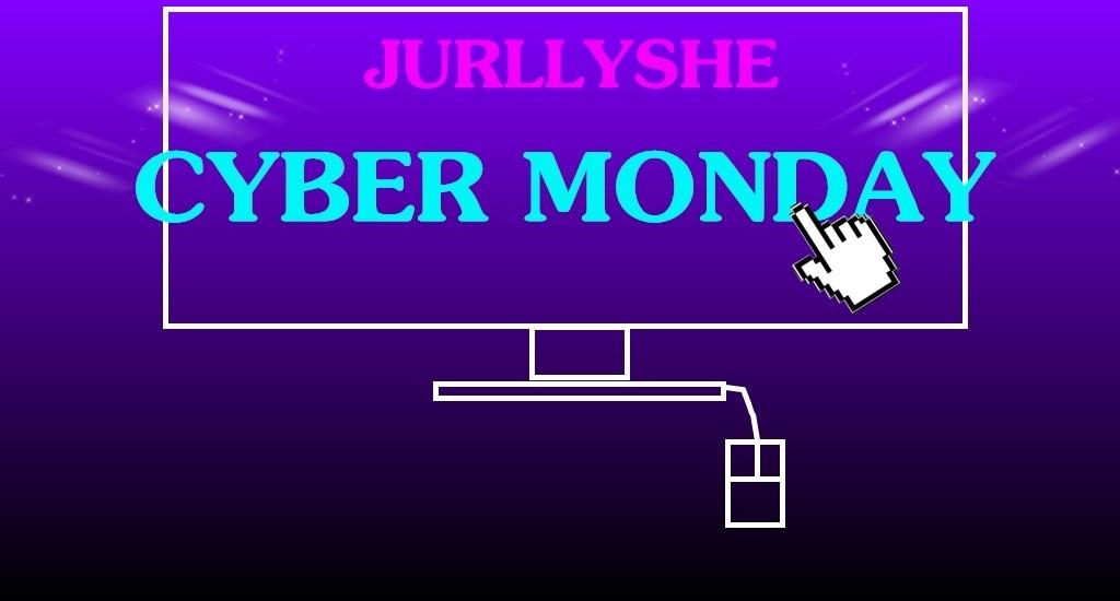 Jurllyshe Cyber Monday Promotion