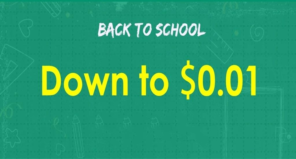 Jurllyshe Back to School Sale
