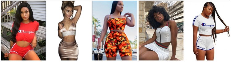 two piece sets outfits shorts sets for summer africanmall