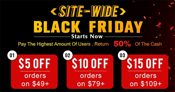 Africanmall Black Friday Women Clothing Sales