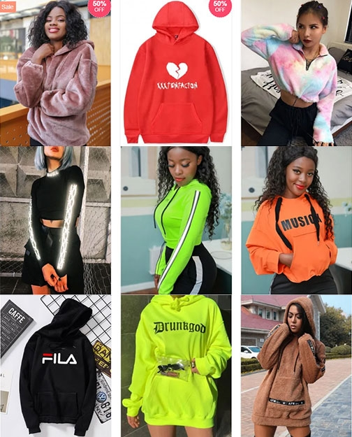 Black Friday Hoodies for Women Sales