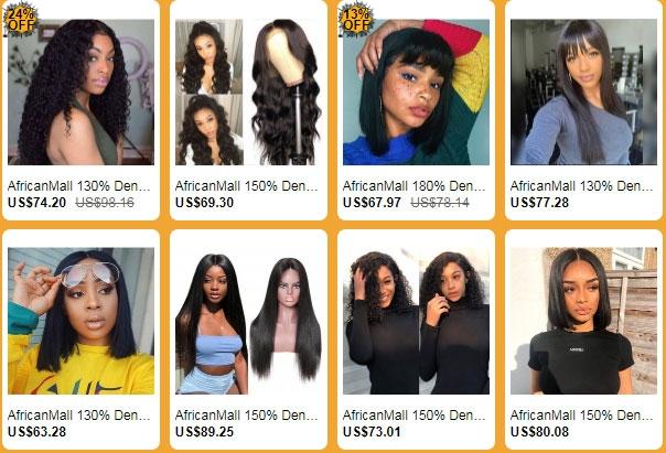 Halloween Hair Sale