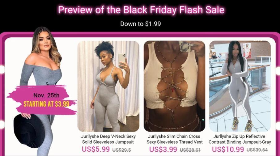black friday flash sale