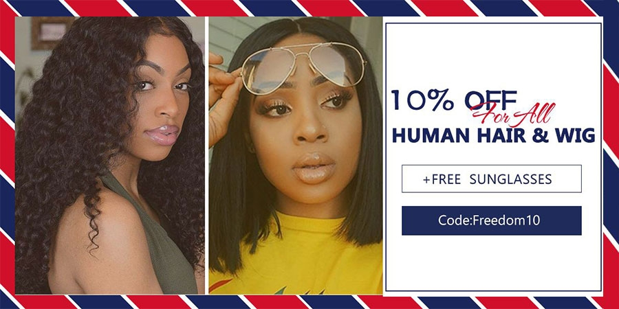 discount for human hair and human hair wigs