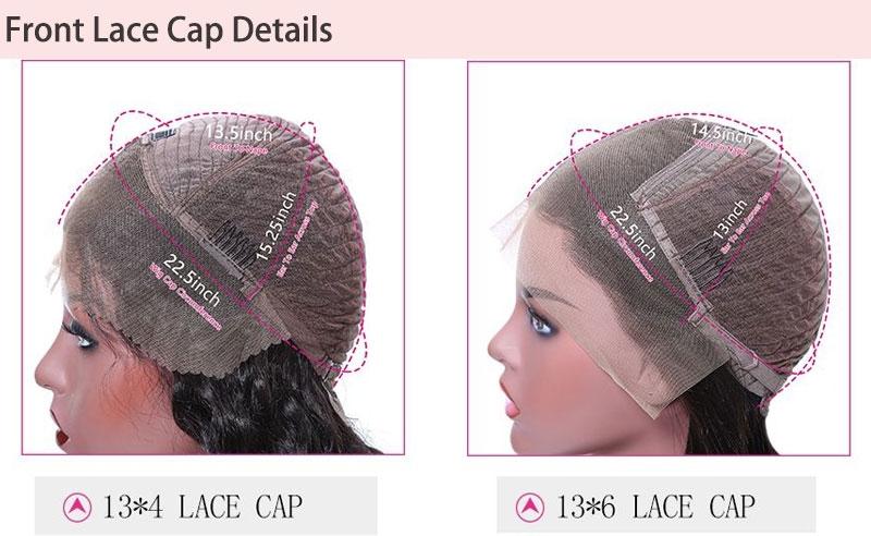 front lace wigs detail