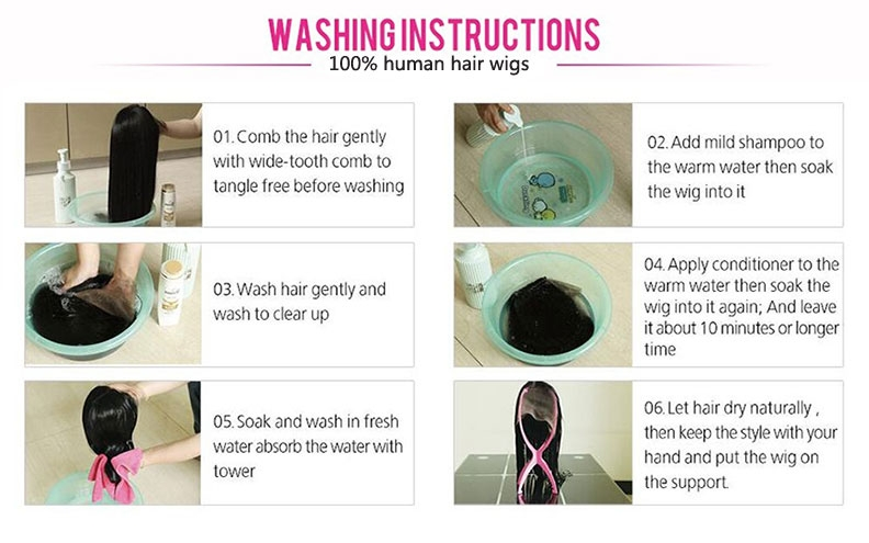 how to wash lace front wigs