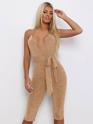 sexy romper for clear waistline shape