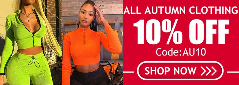 Thanksgiving Day Sale for New In Autumn Clothes