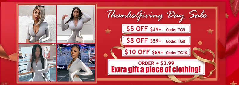 Thanksgiving Day Sale for Women Clothing