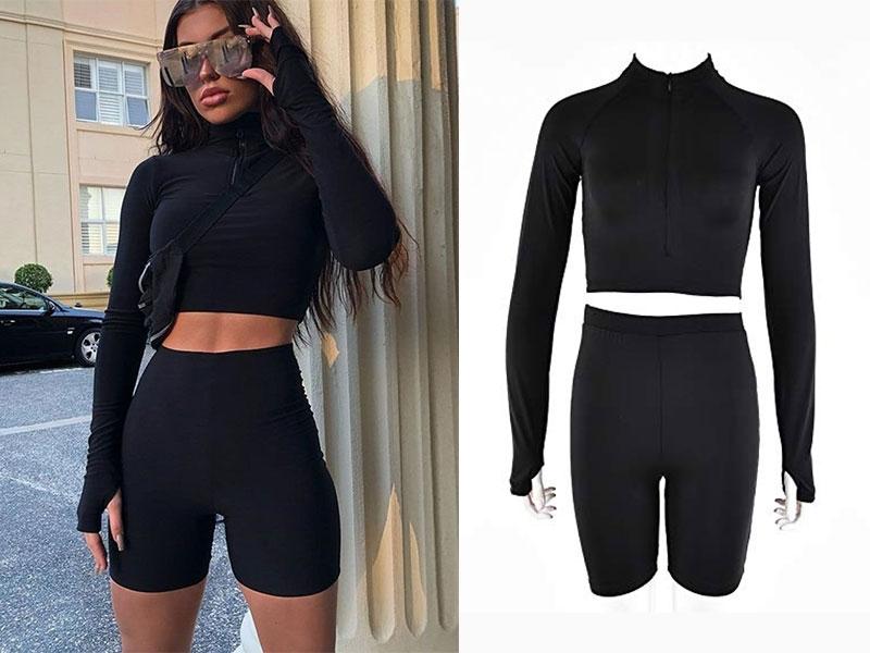 Two Piece Shorts Set
