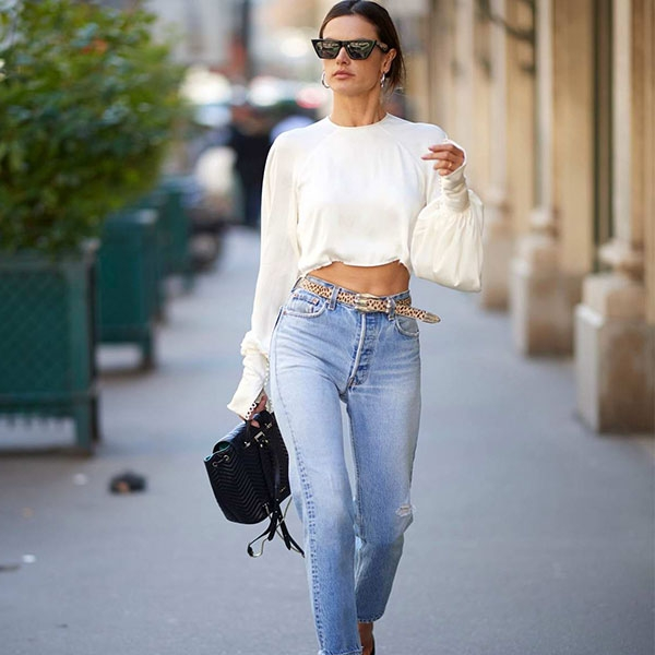 Crop Top With Jeans