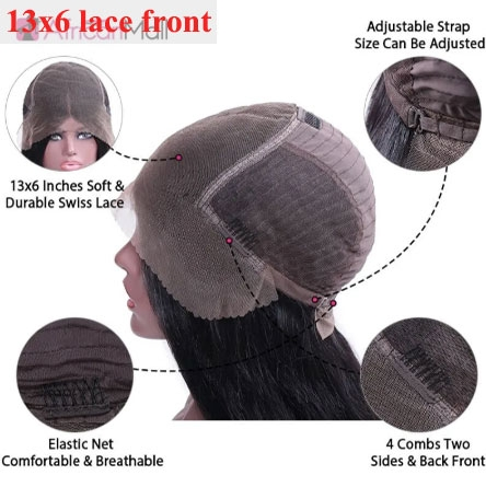 13x6 lace frontal wig cap