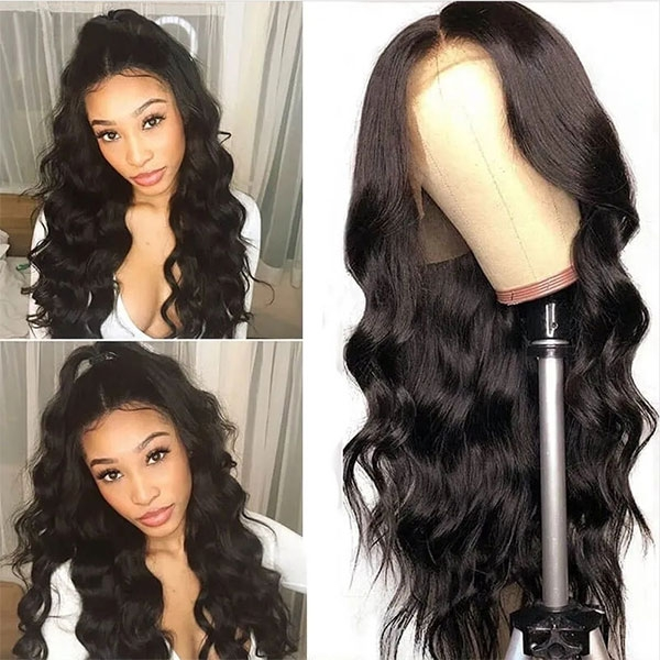 Body Wave Lace Front Wig With Baby Hair