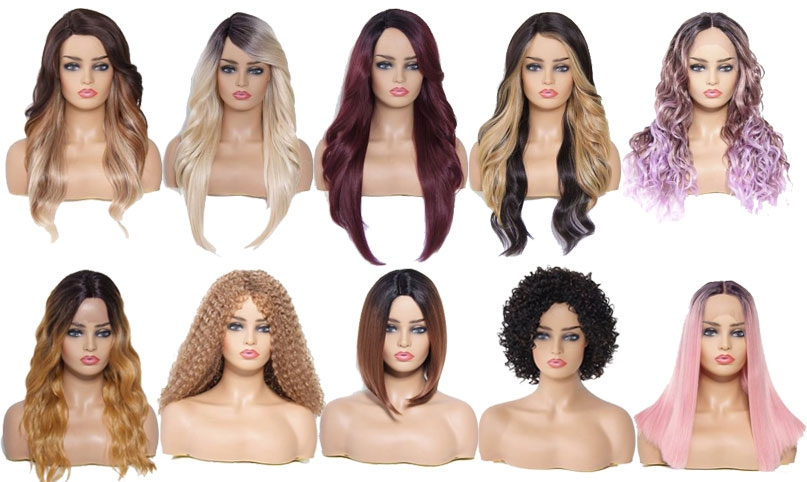 12 Cheap Synthetic Hair Wigs For 2019 Halloween Costume