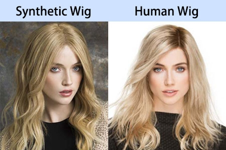 Synthetic And Human hair Wig