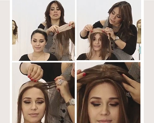 Using The Wig Grip