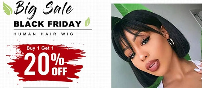 Black Friday Wigs For Sale