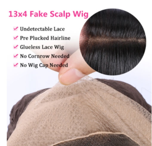 The Pros Of AfricanMall Fake Scalp Lace Wig