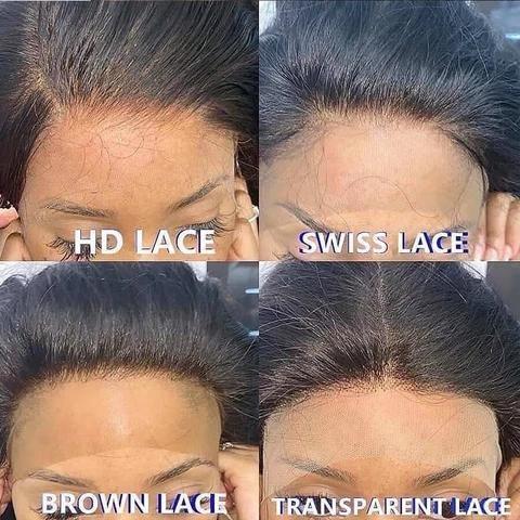hd lace vs transparent lace wig