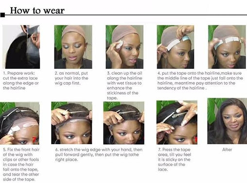 How To Wear Lace Front Wig
