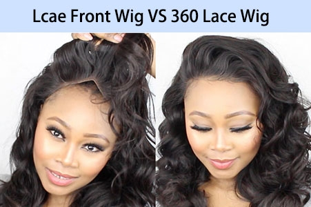 Lace front wigs and 360 lace wigs
