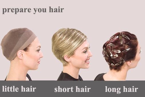 Prepare your own hair