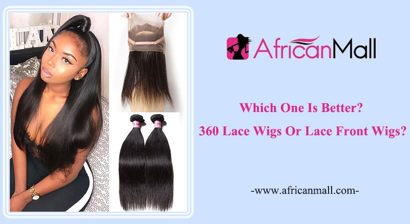 the difference between lace frontal wig vs 360 frontal wig