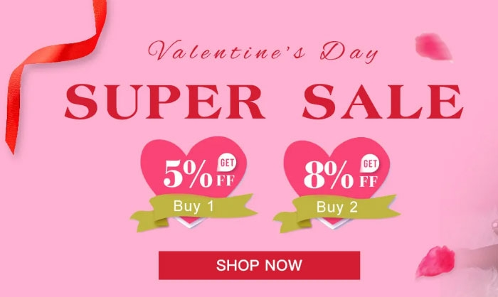 Africanmall Best Valentine's Day Sale 2020
