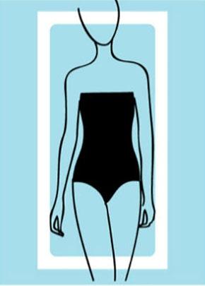rectangle body shape type