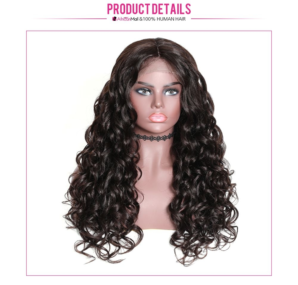 Curly 13x4 Lace Front Curly Human Hair Wig