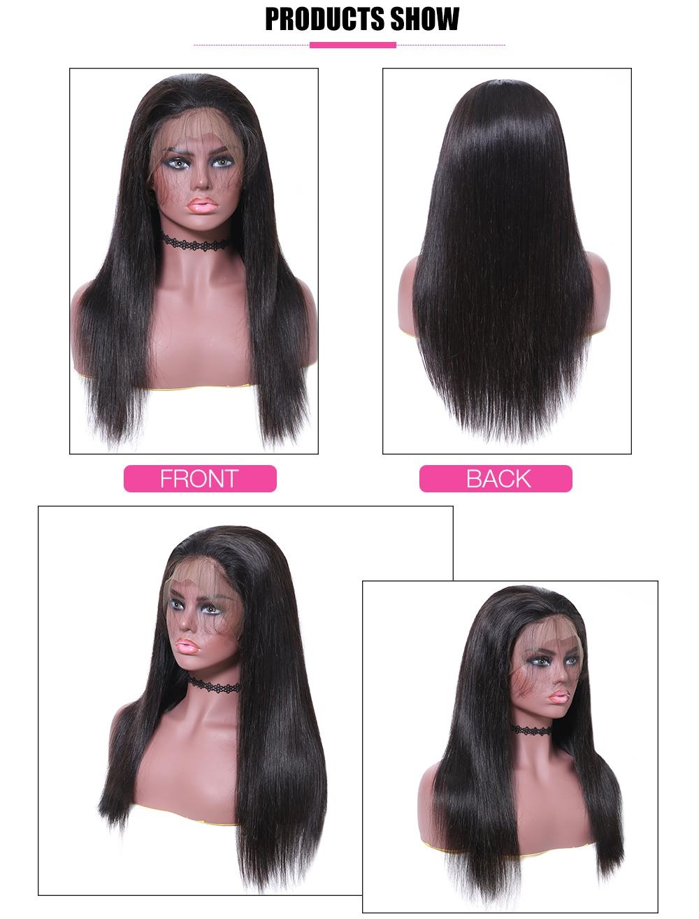 Straight Lace Front Wigs For Women